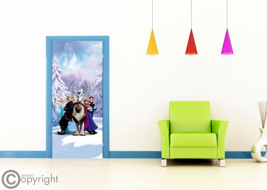 Fototapeta vliesová Frozen FTDNV-5481, 90x202 cm - Fototapety dětské vliesové