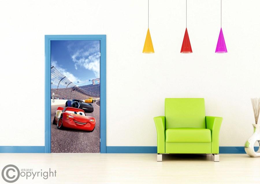 Fototapeta vliesová Cars FTDNV-5483, 90x202 cm - Fototapety dětské vliesové