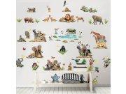 Samolepící dekorace Walltastic Safari 45439 Dekorace ostatní