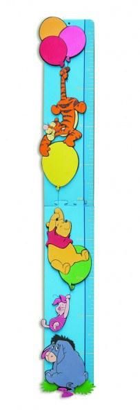 Pěnový metr Medvídek Pú D23720 | Dekorace do dětských pokojů Dekorace Medvídek Pú