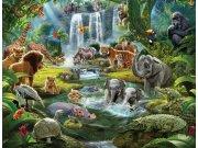 Fototapeta 3D Jungle Walltastic 46481, 305 x 244 cm Fototapety skladem