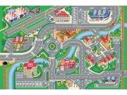 Dětský koberec Město a letiště, rozměry 80 x 120 cm Dětské koberce