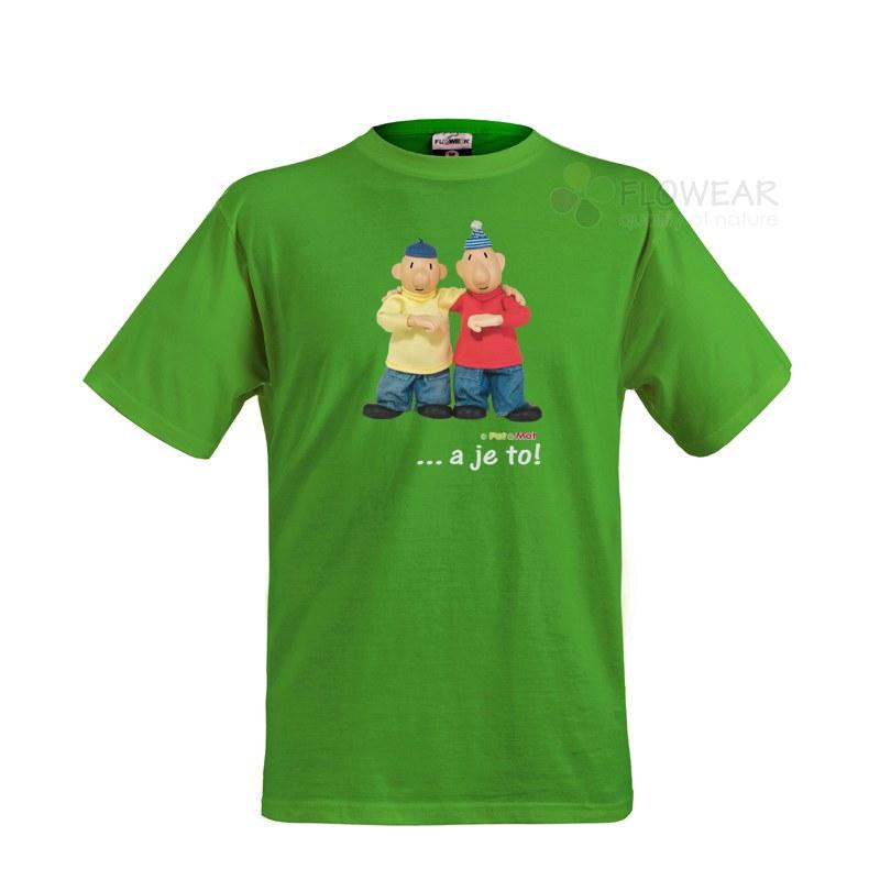 Tričko dětské Pat a Mat Kiwi, velikost 122 - Dětské trička