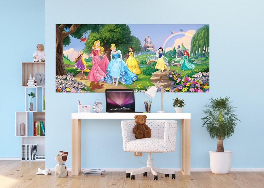 Fototapeta vliesová Disney Princezny na louce FTDNH-5378 | 202x90 cm - Fototapety dětské vliesové
