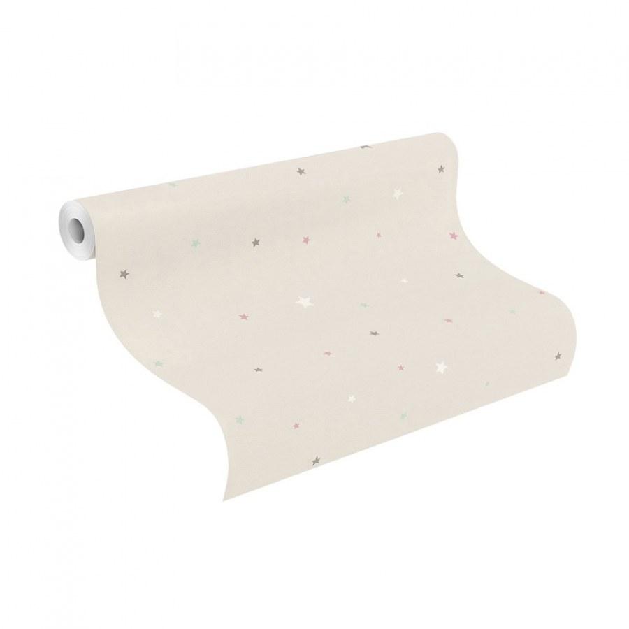 Papírová tapeta do pokojíčku Hvězdy Bambino 245257 - Tapety Bambino