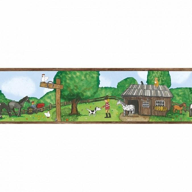 Dětské vliesové bordury Jonas Kötz 46509 | 0,18 x 5 m - Tapety Jonas Kötz