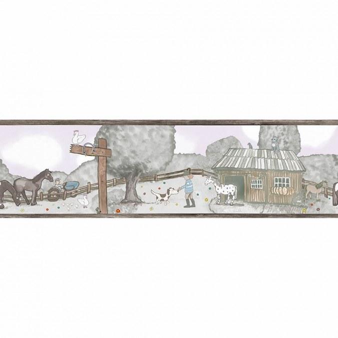 Dětské vliesové bordury Jonas Kötz 46510 | 0,18 x 5 m - Tapety Jonas Kötz