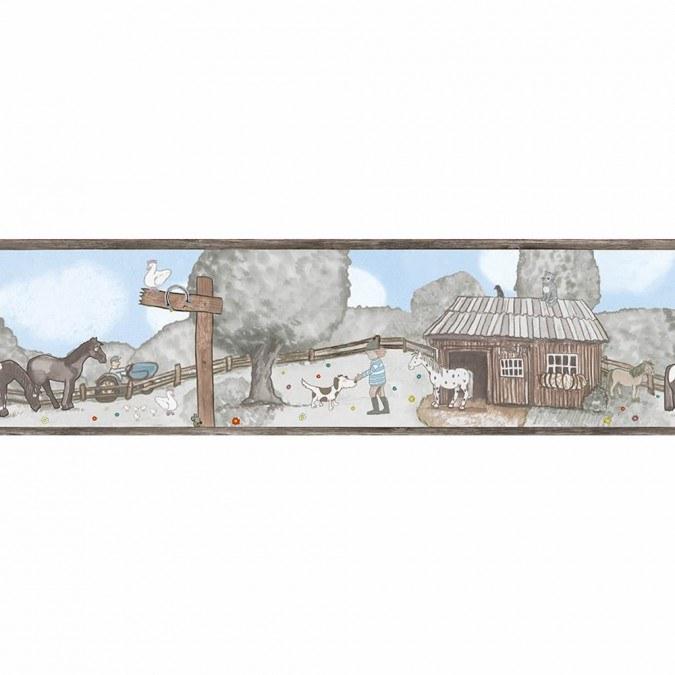 Dětské vliesové bordury Jonas Kötz 46511 | 0,18 x 5 m - Tapety Jonas Kötz