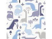 Dětské vliesové tapety Dinosauři LL-10-02-1   Jack´N Rose by Woodwork Tapety Jack´N Rose by Woodwork