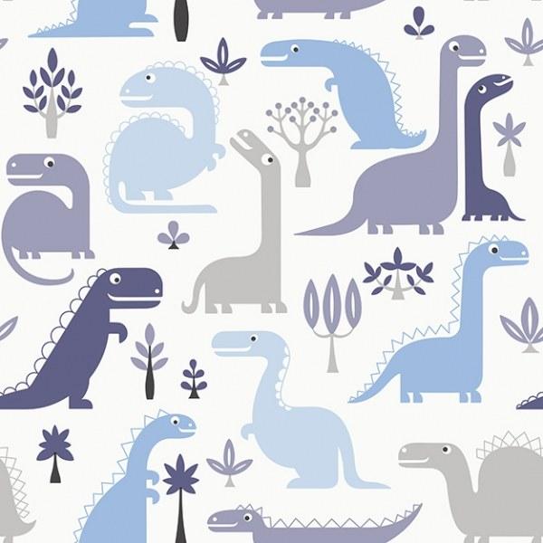 Dětské vliesové tapety Dinosauři LL-10-02-1 | Jack´N Rose by Woodwork - Tapety Jack´N Rose by Woodwork