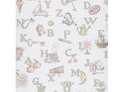 Dětské vliesové tapety na zeď LL3110 | Jack´N Rose by Woodwork Tapety Jack´N Rose by Woodwork
