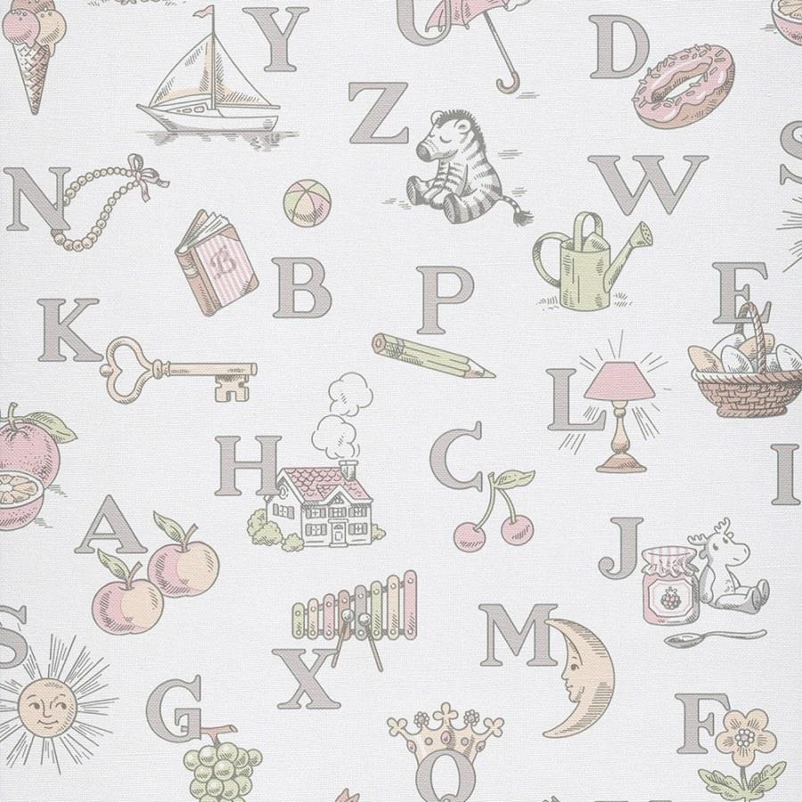 Dětské vliesové tapety na zeď LL3110 | Jack´N Rose by Woodwork - Tapety Jack´N Rose by Woodwork