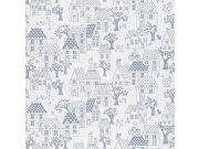 Dětské vliesové tapety na zeď LL-05-07-4 | Jack´N Rose by Woodwork Tapety Jack´N Rose by Woodwork