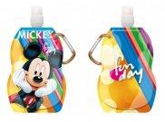 Láhev na pití s karabinou Mickey 330 ml Do školy a školky - lahve na pití