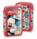 Dvoupatrový plný penál Mickey Hey Do školy a školky - penály