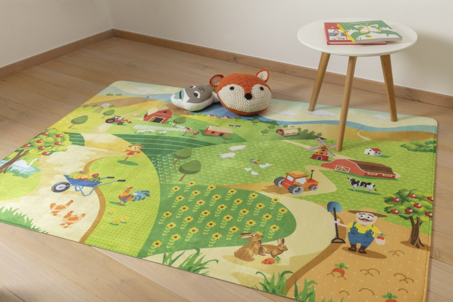 Dětský koberec Ultrasoft farma 1901 - Dětské koberce