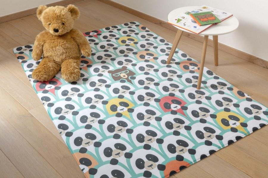 Dětský koberec Ultrasoft Panda 1802 - Dětské koberce