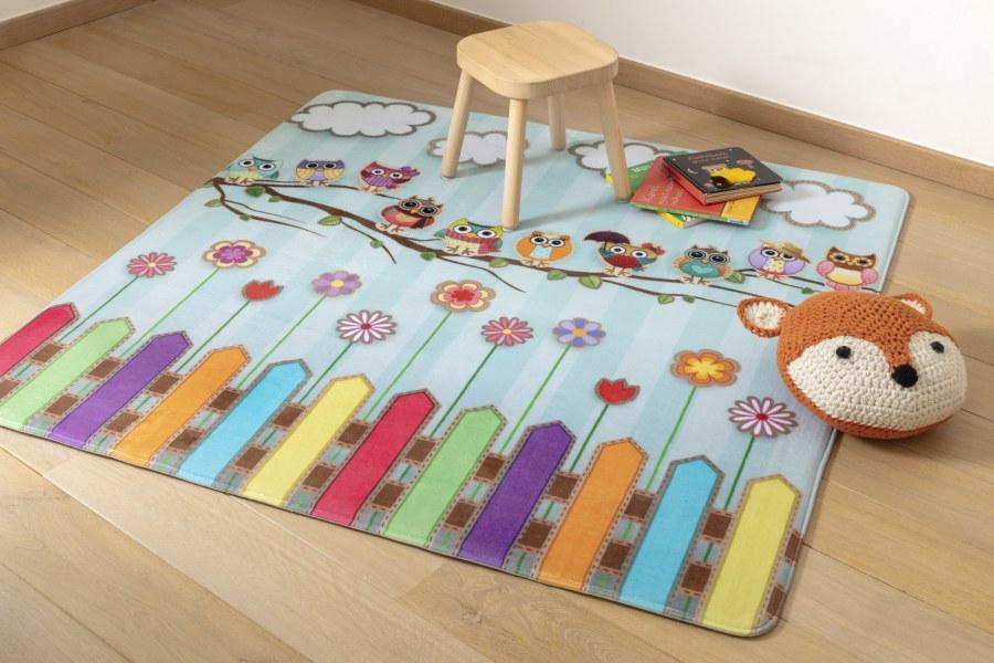 Dětský koberec Ultrasoft Sova 1803 - Koberce na hraní
