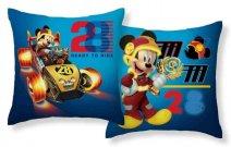 Povlak na polštářek Mickey závodník micro 40/40 Polštářky - povláčky na polštářky