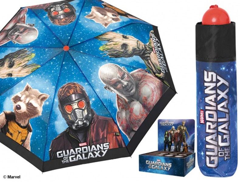 Dětský skládací deštník Strážci vesmíru, 108 cm - Deštníky pro děti