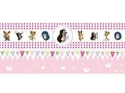 Dětská bordura Krtek 6140002 | 23,5 cm x 3 m Tapety Krteček