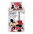 Povlečení Mickey a Minnie Paříž Eiffelova věž 140/200, 70/90 Povlečení licenční