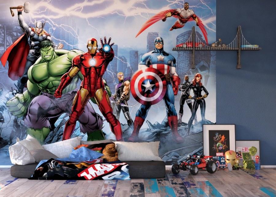 Fototapeta papírová Avengers FTDS2230 | 360x254 cm - Rozměr 360 x 254 cm