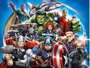 Fototapeta vliesová Avengers FTDNXXL5081 | 360 x 270 cm Fototapety pro děti - Fototapety dětské vliesové