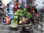 Fototapeta vliesová Avengers FTDNXXL5080 | 360 x 270 cm Fototapety pro děti - Fototapety dětské vliesové