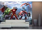 Fototapeta vliesová Avengers FTDNXXL5027 | 360 x 270 cm Fototapety pro děti - Fototapety dětské vliesové