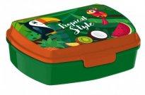 EUROSWAN Box na svačinu Tukan Plast, 16 x 12 x 5 cm Do školy a školky - boxy na svačinu
