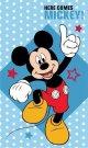 DETEXPOL Dětský ručník Mickey hvězdičky Bavlna - Froté, 50/30 cm Osušky,ručníky, ponča, župany - ručníky 50x30 cm