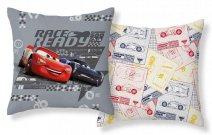 DETEXPOL Povlak na polštářek Cars Race Ready micro Polyester, 40/40 cm Polštářky - povláčky na polštářky