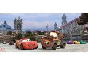 Fototapeta Cars in London FTDH-0624, rozměry 202 x 90 cm Fototapety pro děti - Rozměr 202 x 90 cm