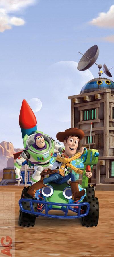Dětská vliesová fototapeta Toy Story FTDNV5439, rozměry 90 x 202 cm | Fototapety pro děti Fototapety dětské vliesové