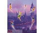 Vliesová fototapeta Fairies in London FTDNXL-5106, rozměry 180 x 202 cm Fototapety pro děti - Fototapety dětské vliesové