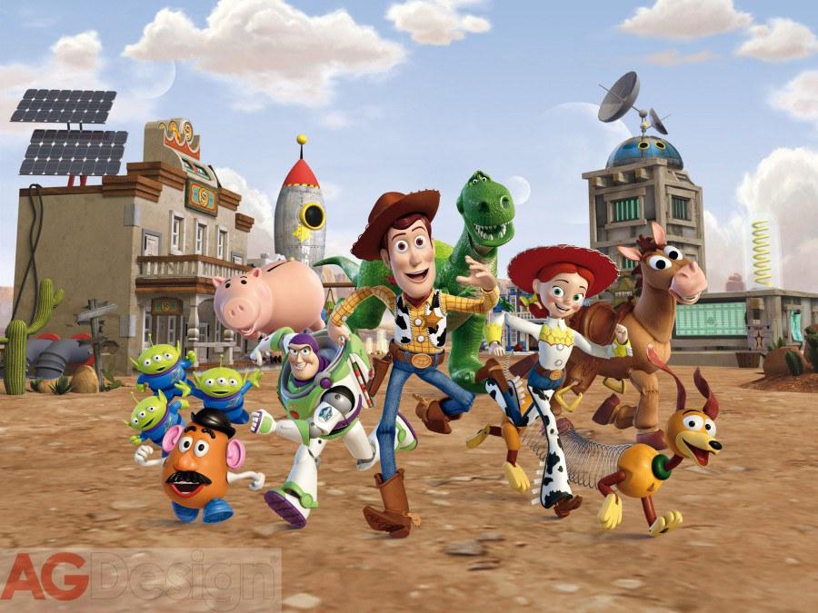 Dětská vliesová fototapeta Toy Story FTDNXXL5021, rozměry 360 x 270 cm | Fototapety pro děti Fototapety dětské vliesové