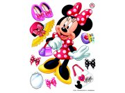 Maxi nálepka Minnie a doplňky AG Design DK-1703, rozměry 85 x 65 cm Dekorace Mickey Mouse