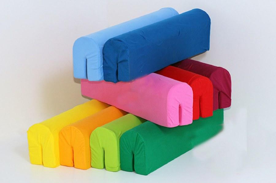 Polyuretanová chránič na zábranu postele tmavě modrý - Akce