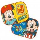 Sluneční clony Mickey a Minnie 2 ks Autodoplňky - sluneční clony