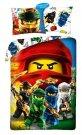 HALANTEX Povlečení Lego Ninjago Bavlna, 140/200, 70/90 cm Povlečení licenční
