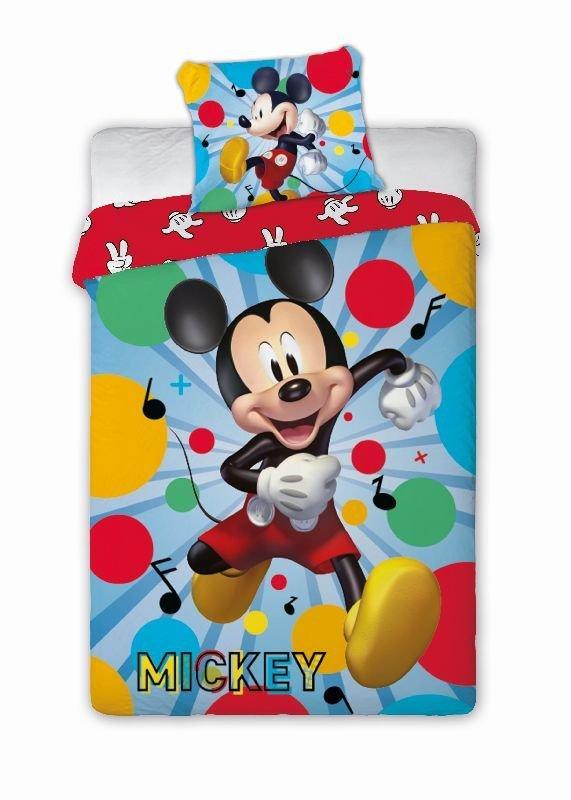 FARO Povlečení Mickey Happy Bavlna, 140/200, 70/90 cm - Povlečení licenční