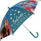EUROSWAN Vystřelovací deštník Ledové Království 2 Anna a Elsa Polyester Do školy a školky - deštníky