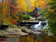 Fototapeta Autumn mill FTXXL-1411, rozměry 360 x 255 cm Fototapety skladem