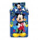 Povlečení Mickey blue 03 micro 140/200, 70/90 Povlečení licenční