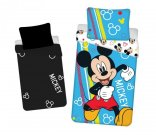 JERRY FABRICS Povlečení Mickey Happy svítící Bavlna, 140/200, 70/90 cm Povlečení licenční