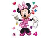 Samolepka Minnie pretty AG Design DK-1754, rozměry 42,5 x 65 cm Dekorace Mickey Mouse