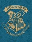 HALANTEX Fleece deka Harry Potter blue Polyester, 130/170 cm Deky, spací pytle - fleece deky