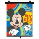 SEVEN Sluneční clona Roletka Mickey Happy Plast, Polyester, 1 ks Autodoplňky - roletky