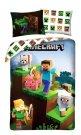 HALANTEX Povlečení Minecraft Farma animals Bavlna, 140/200, 70/90 cm Povlečení licenční